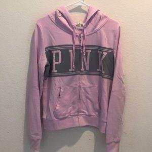 Lilac VS PINK full zip hoodie